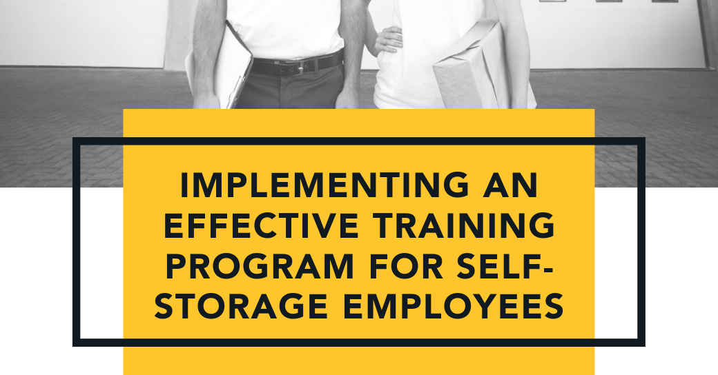 Implementing an Effective Training Program for Self-Storage Employees