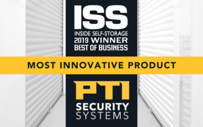 PTI Security Systems Named for Most Innovative Product in Inside Self-Storage's 2019 Best of Business Poll