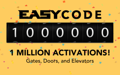 PTI Security Systems Celebrates 1,000,000 EasyCode Activations