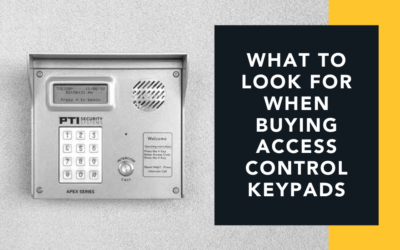 What to Look For When Buying Access Control Keypads