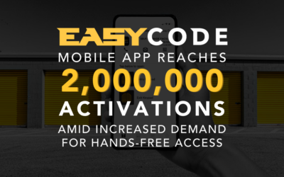 EasyCode Mobile App Reaches 2 Million Activations  Amid Increased Hands-Free Access Adoption
