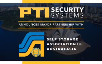 PTI Security Systems Announces Major Partnership With Self Storage Association Of Australasia